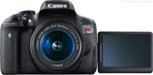 Canon-EOS-Rebel-T6i-LCD-Open