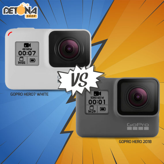 GoPro Hero7 White vs GoPro Hero 2018